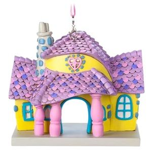 💕Minnie Mouse Toon Town House Ornament Disneyland
